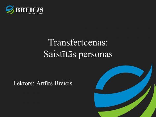transfertcenas saistītās personas